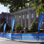 Apollo beachflaggor Triathlon